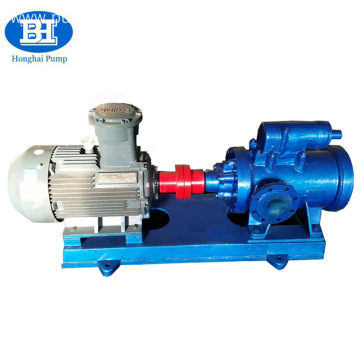 high viscosity three screw large capacity asphalt pump